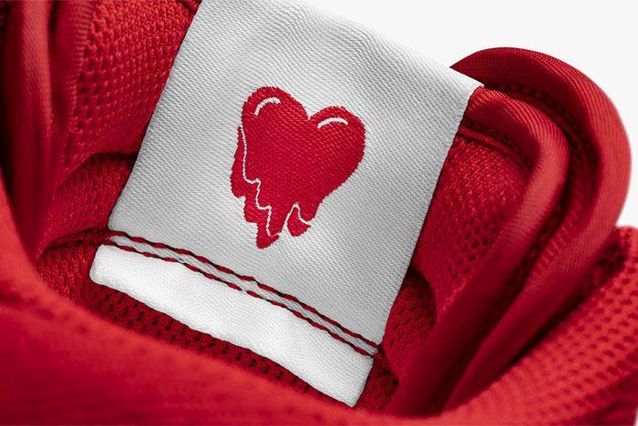 Emotionally Unavailable Nike Air Force Tongue