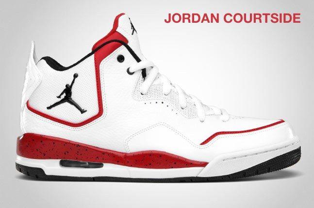 Jordan Courtside Red White 1
