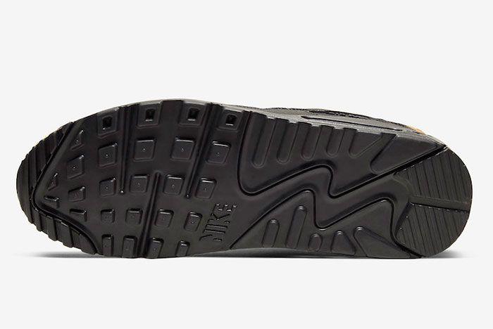Nike Air Max 90 Wheat Suede Sole