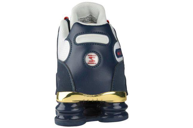 Nike Shox Nz Gold Heel 1