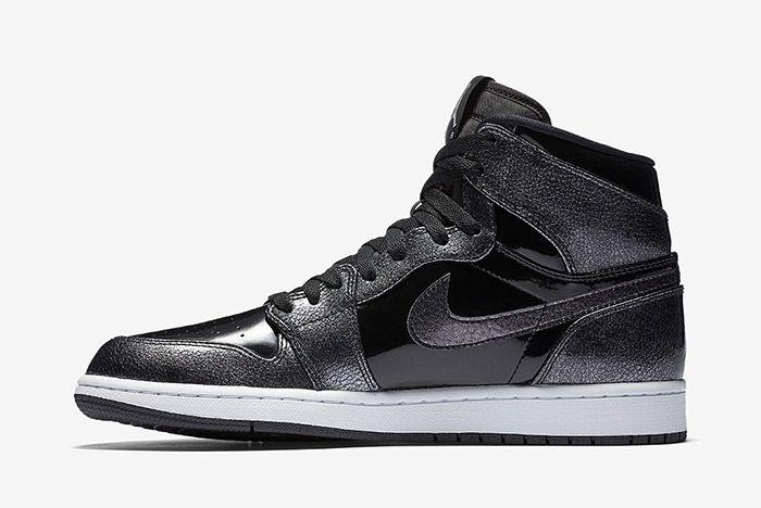 Air Jordan 1 Black Patent 4