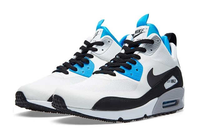 Nike Air Max 90 Sneakerboot Royal Blue 4