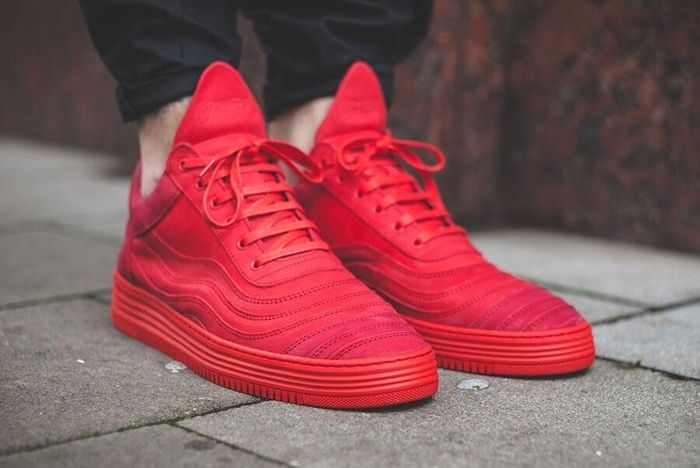 Filling Pieces Low Top All Red 3