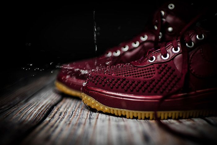 Nike Lunar Force 1 Team Red Gum 2