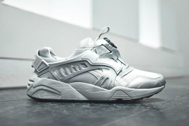 puma trinomic disc blaze reflective