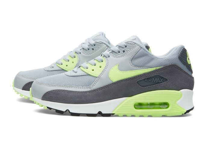 Nike Am90 Wmns Wolf Grey Ghost Green 3