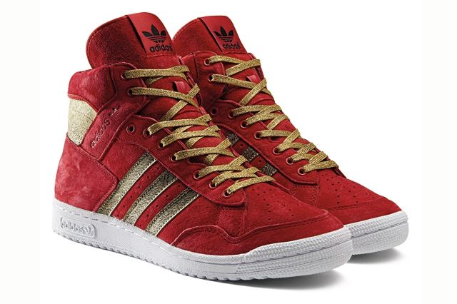 Adidas Originals Pro Conference Hi Year Of The Horse Red