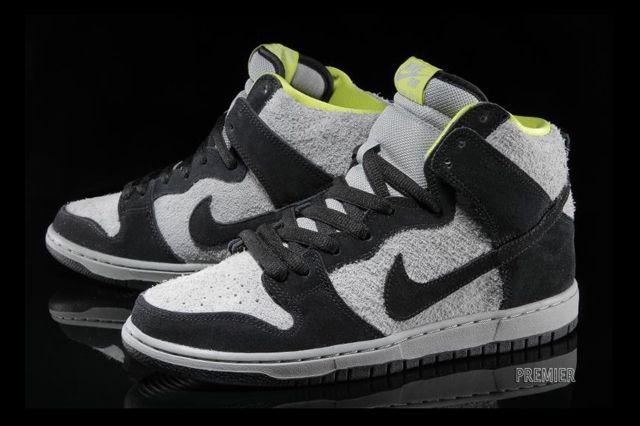Nike Sb Dunk High Wooly Venom 3