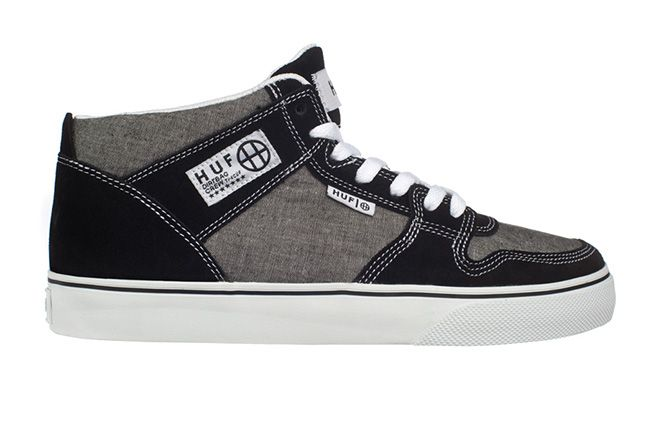 Huf Footwear Huf 1 Vulc Black Chambray Single 1