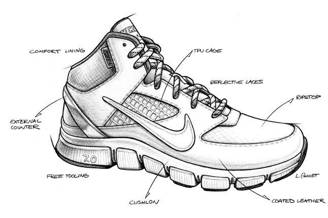Black Nike Free Trainer 7 0 Shield Design 1