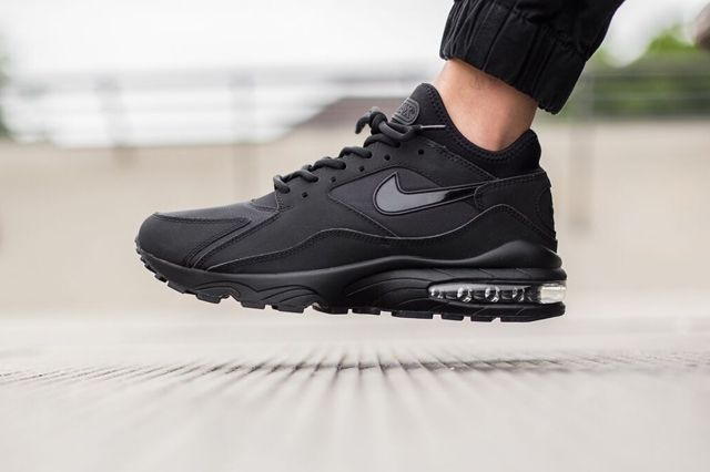 Nike Air Max 93 Triple Black 3