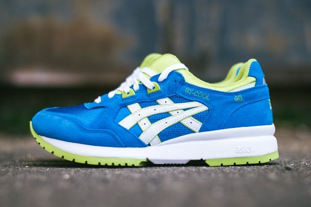 Asics Gt Cool Mid Blue Lime 7