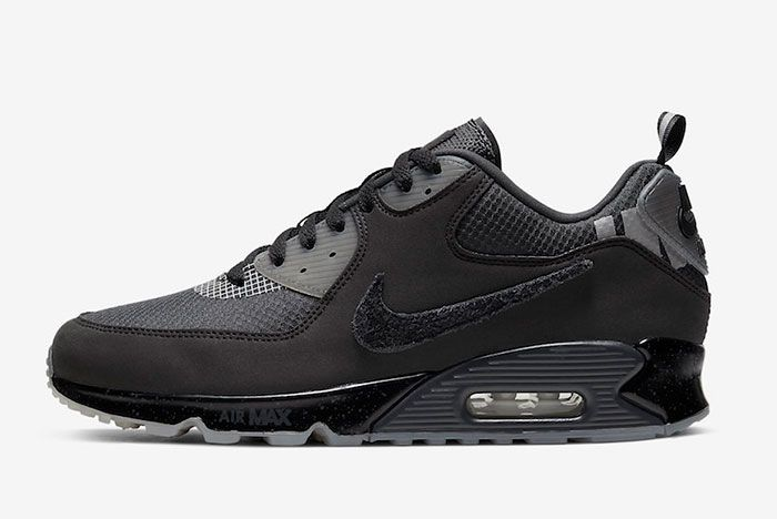 Undefeated Nike Air Max 90 Black Cq2289 002 Release Date 1 Official