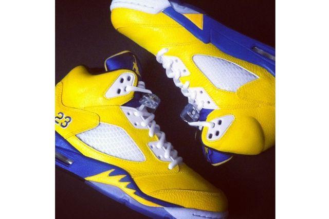 Nike Air Jordan 5 Laney Custom Flip 2