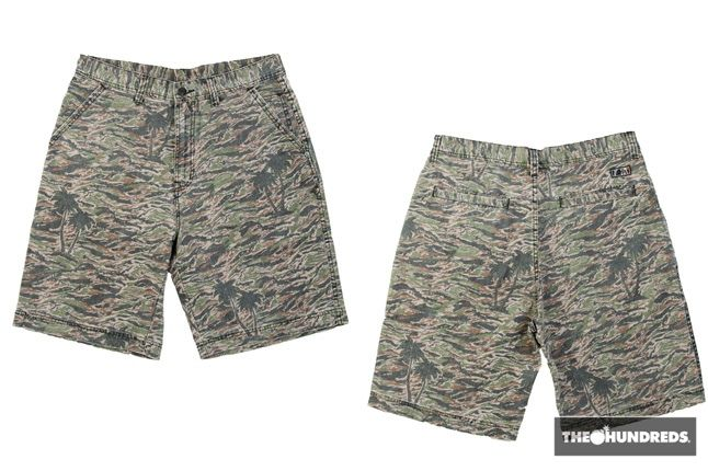 The Hundreds Camo Shorts 1
