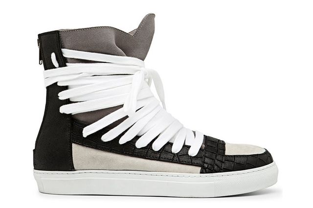 Krisvanassche Multilace High Top Sneaker