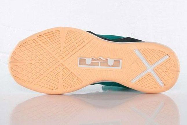 Nike Lebron X Dolphins European Release Outsole 1