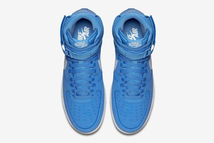 Nike Air Force 1 High University Bluesummit White5