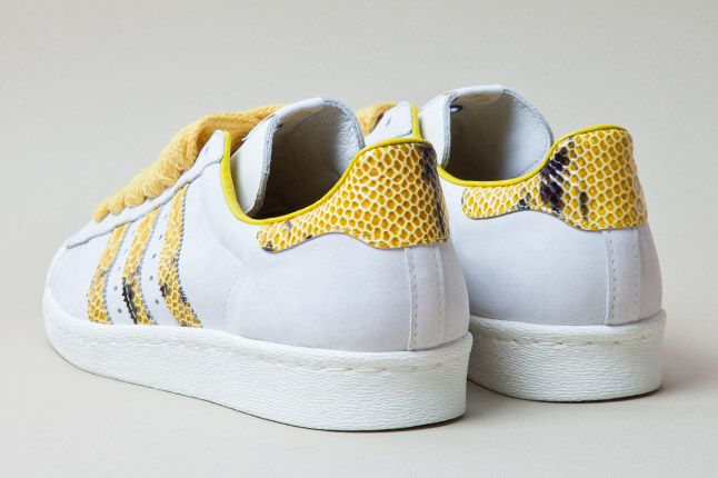 Adidas Consortium Shelltoe Snake Yellow 4 1