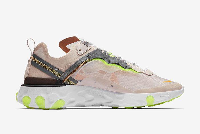 Nike React Element 87 Orewood Brown 3