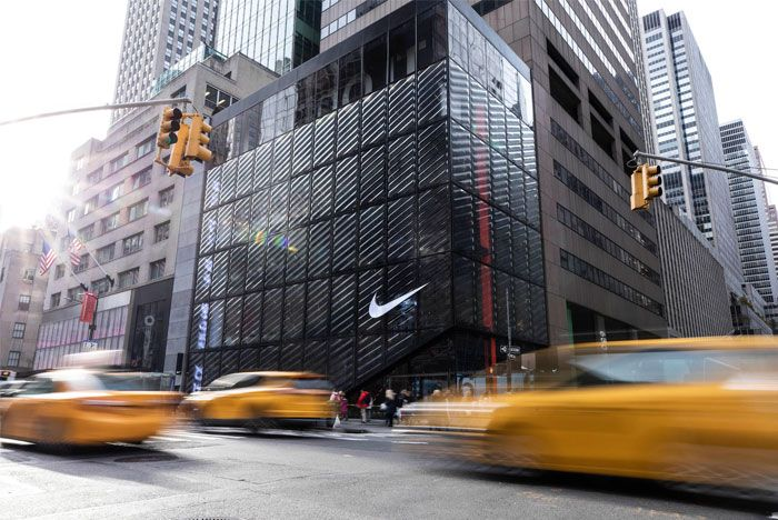 Nike Store Nyc Taxi