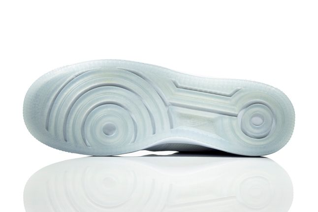 Nike Lunar Force One White Ice Sole 1