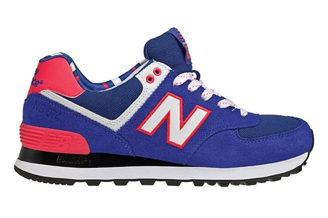 New Balance 574 The Yacht Club Collection Blue Second Profile 1