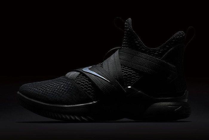 Nike Lebron Soldier 12 Sfg Triple Black 1