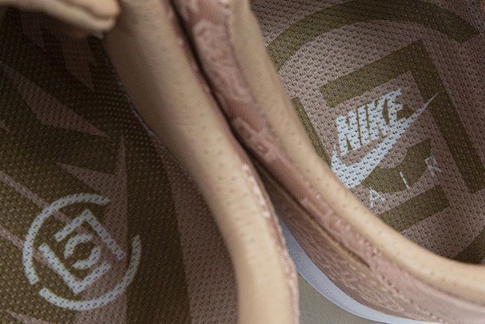 Clot Nike Air Force 1 Rose Gold Insole