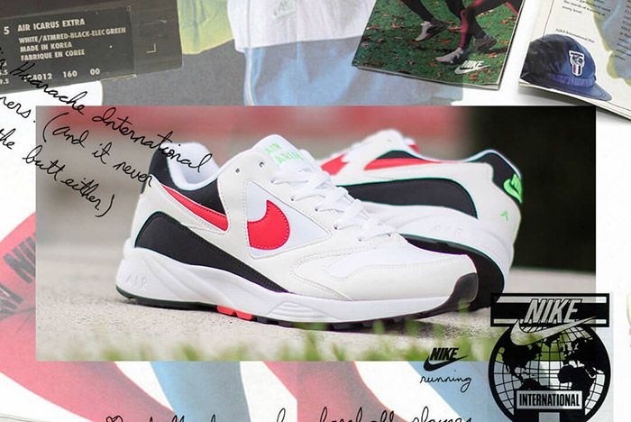 Nike Air Icarus Extra White Red 1