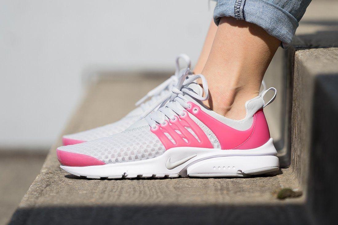 Nike Presto Breathe Gs Pure Platinum3