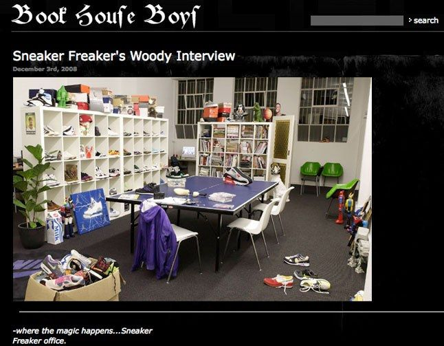 Sneaker Freaker Interviewed By Blacklodges 2