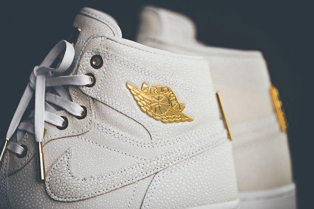 Air Jordan 1 Pinnacle Gold 7