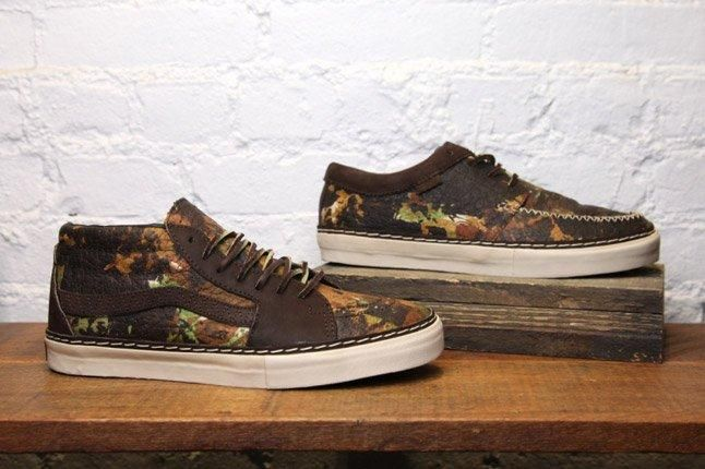 Vans Vault Brushed Camo Pack 1