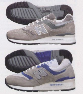History Of New Balance 997 Comparison 1