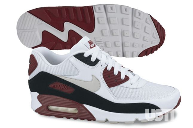 Nike Air Max 90 2013 Essential Red White 1