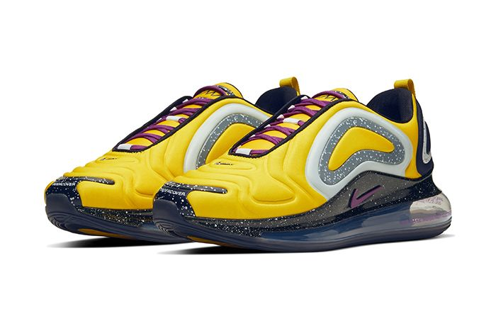 Undercover Nike Air Max 720 Yellow Release Date Pair