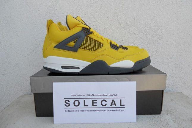 Air Jordan Lightning Pack Yellow 2