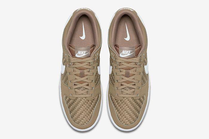 Nike Sb Dunk Low Woven Khaki 2