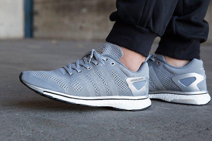 Adidas Adizero Prime Mid Grey3