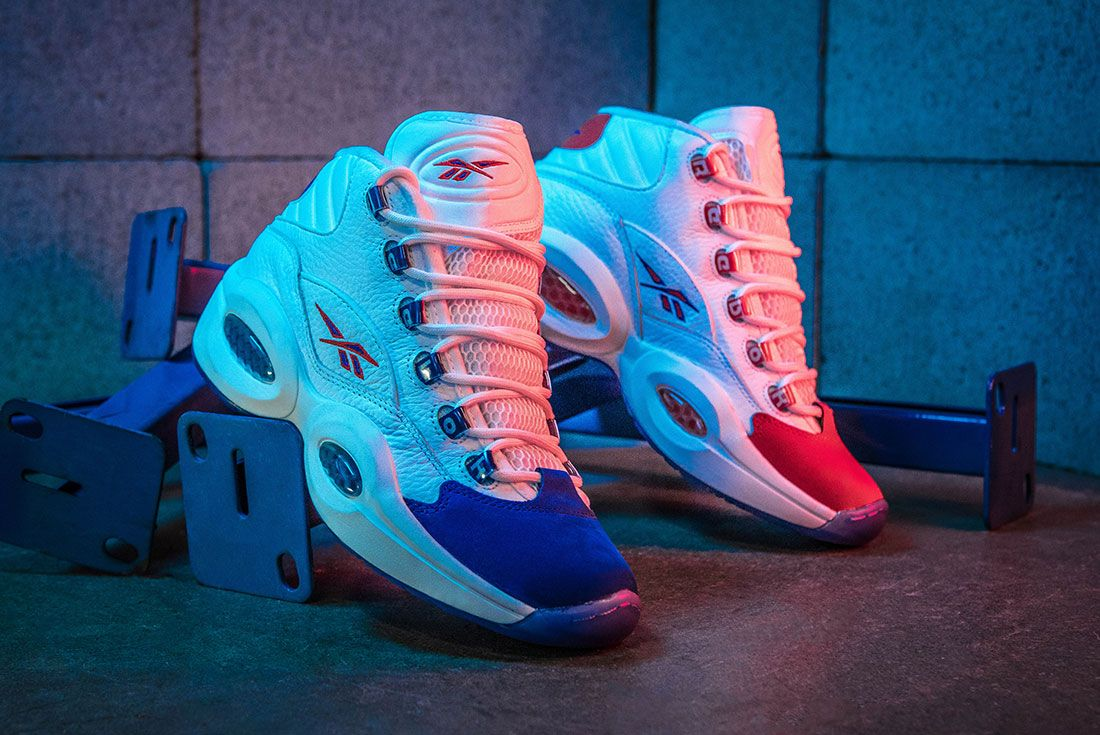 Reebok Question Mid Double Cross Sneaker Freaker Hero Shot4