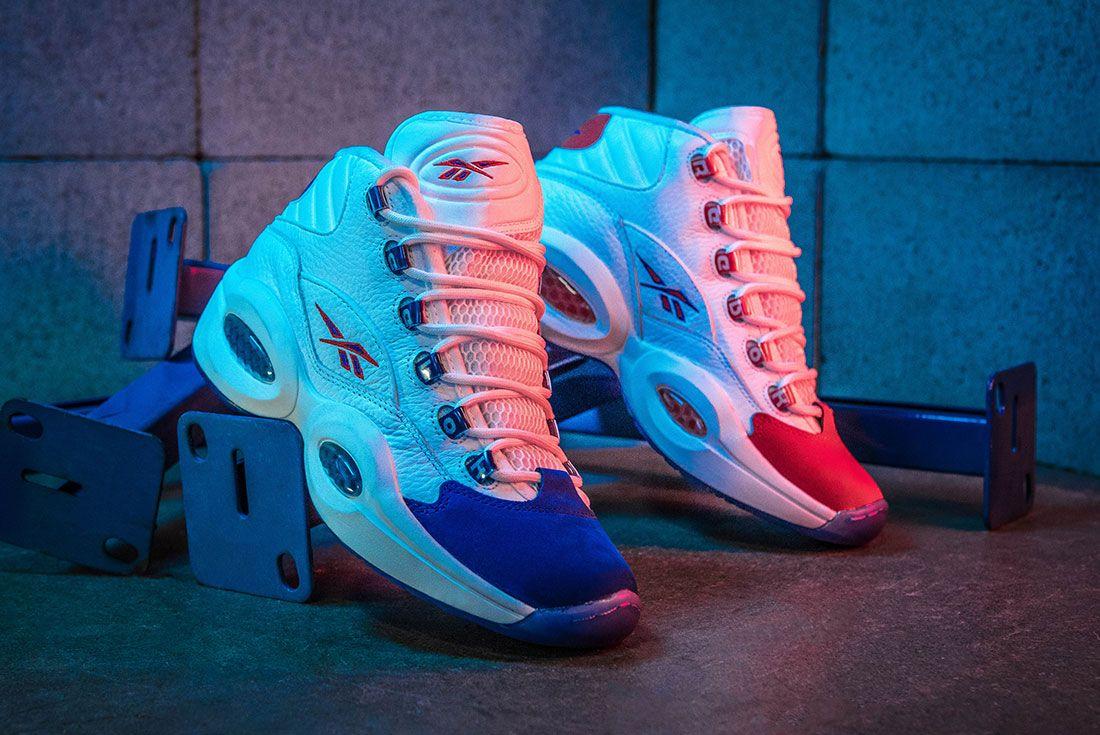 Reebok Question Mid Double Cross Sneaker Freaker Hero Shot4