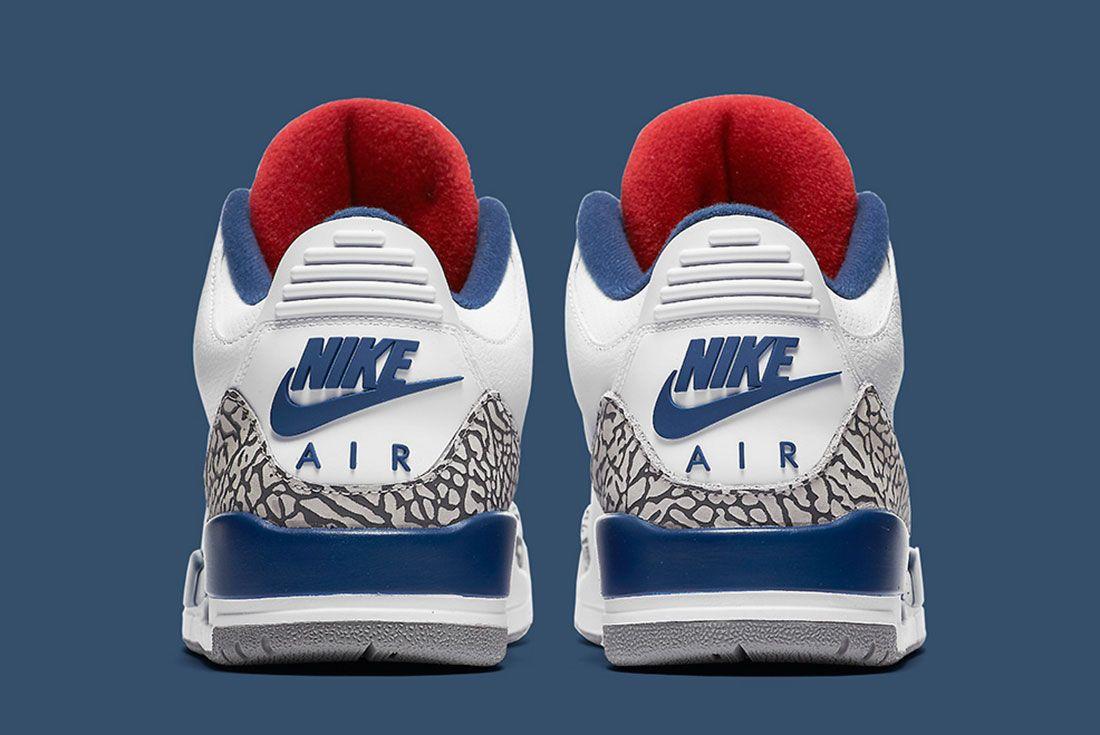 Air Jordan 3 True Blue Retro Official 6