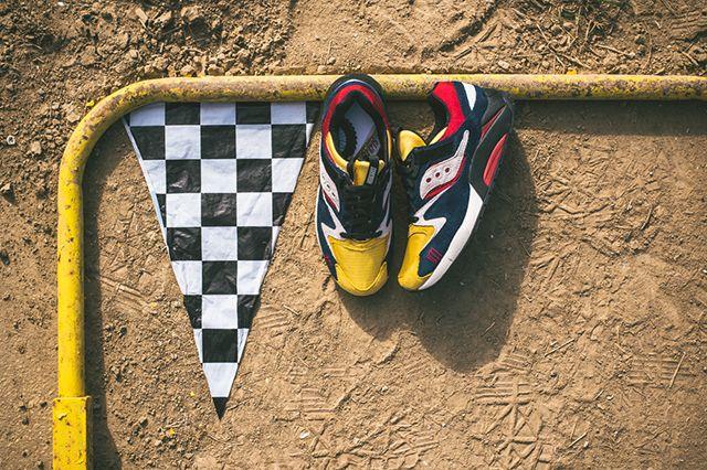 Play Cloths X Saucony Grid 9000 Motocross 5