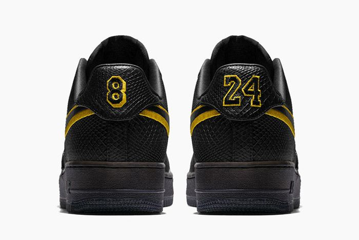 Nike Air Force 1 Kobe Black Mamba Small