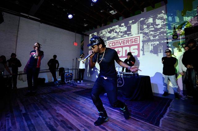 Converse Cons Sneaker Launch Trinidad James Performing