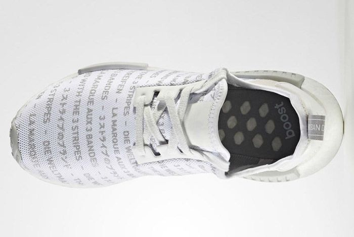 Adidas Nmd Brand With The 3 Stripes White 3
