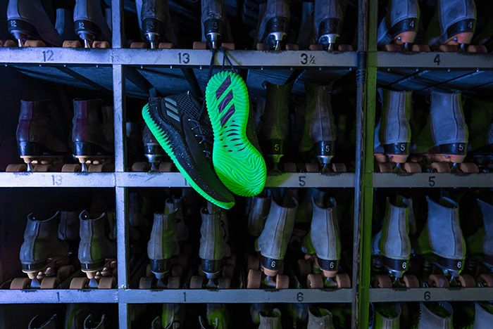 Adidas Dame 4 Glow In The Park 2