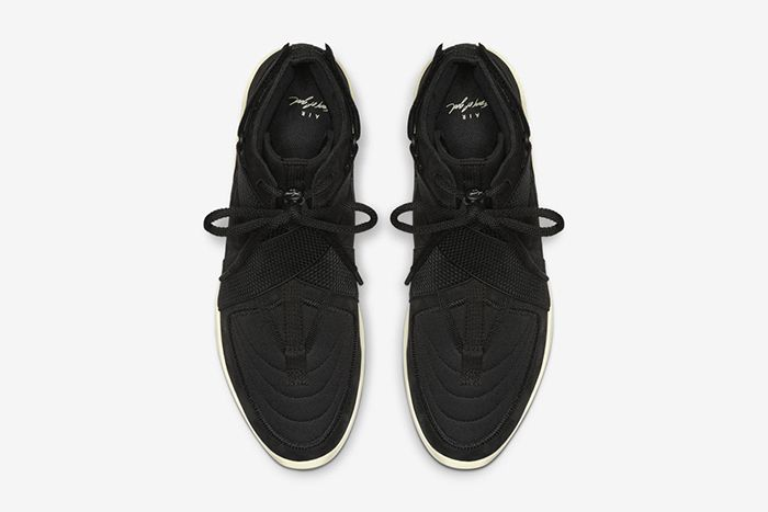 Nike Air Fear Of God Raid Black Fossil At8087 002 Release Date Top Down