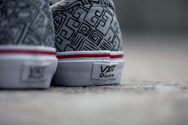 Vans Vandoren Series Maze Pack Era Heel Detail 1